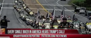 Bikers for Trump: a Washington per celebrare (e proteggere) il presidente (video)