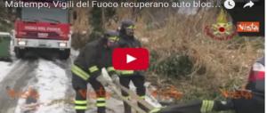 Neve, auto bloccate e paura, Italia in ginocchio: ecco le immagini (Video)