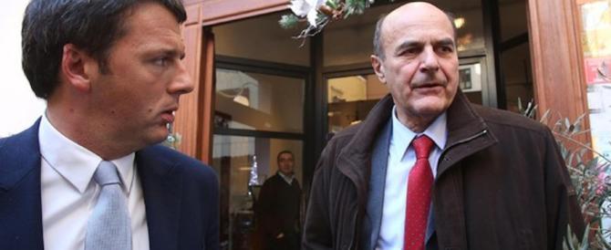 Bersani ipotizza la scissione: «Devo fare due chiacchiere con Renzi…»