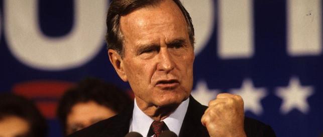 George Bush senior ricoverato in ospedale per problemi respiratori