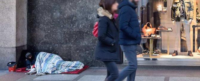 Il freddo fa strage di clochard nelle città italiane: sette morti in pochi giorni