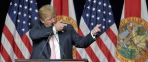 """Trump risponde a chi lo definisce presidente illegittimo: """"Chiacchiere"""""""