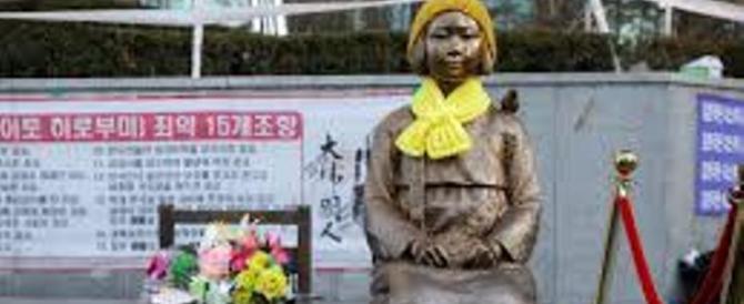 """Nuova crisi fra Giappone e Seul sulle """"donne conforto"""", schiave sessuali"""