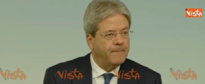 Terrorismo e migranti, Gentiloni ripete la solita solfa sull'accoglienza  (video)