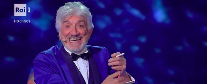 Gigi Proietti regala un'altra serata di tv di qualità, la Rai ringrazia (VIDEO)