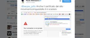 """La Rete M5S dice sì ad Alde. Ma sul sito di Grillo spuntano """"buchi"""" sospetti"""
