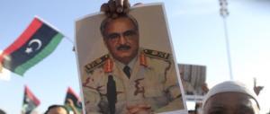 """Libia: l'""""amico"""" al Sarraj ci accusa di furto, Haftar sgomina i terroristi"""