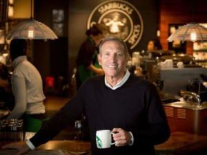 Il fondatore di Starbucks è stato un supporter di Hilary Clinton