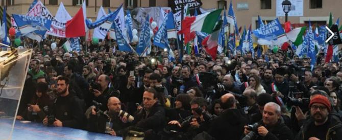 Sondaggio Demos: crollano M5S e Pd, balzo in avanti di Fratelli d'Italia e FI