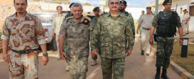 Putin fornirà armi all'uomo forte libico Haftar. E l'Italia sta a guardare…