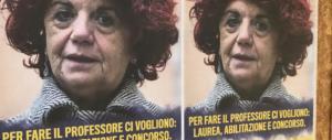 """""""Per fare il ministro basta la terza media"""". Manifesti contro la Fedeli (VIDEO)"""