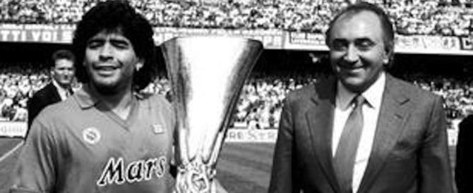 """Ferlaino """"boccia"""" Maradona come dirigente: «È un uomo immagine e…»"""