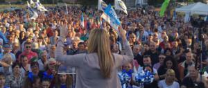 """""""Sovranità"""". Così Giorgia Meloni ha portato in piazza Bodin e Schmitt"""