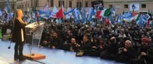 Giorgia Meloni: «Il popolo si deve riprendere la sua sovranità»