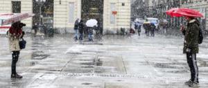 Il Centro Sud ostaggio del maltempo: pioggia e neve non danno tregua
