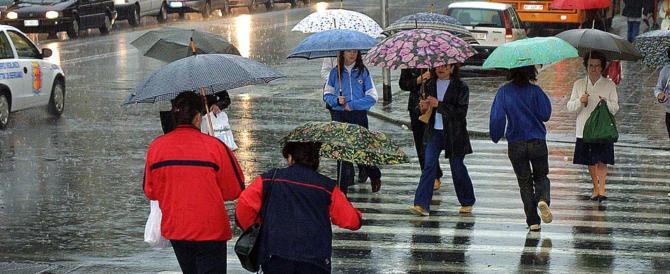 Previsioni meteo: arriva la pioggia al Nord. Clima meno freddo in tutt'Italia