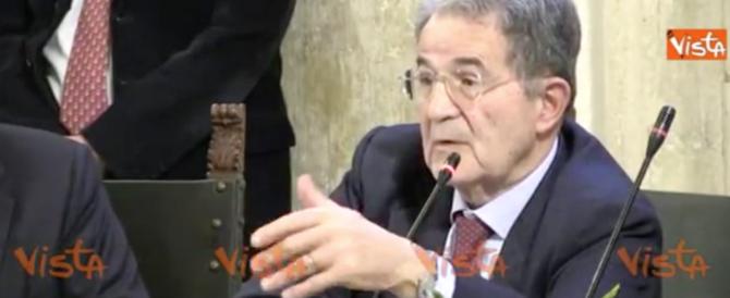 Prodi offende i giovani: «Sono ignoranti, conoscono solo Maradona» (video)