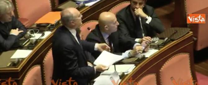 """Sisma, la rabbia del senatore Ceroni: """"Fatemi parlare o sfascio tutto"""" (video)"""