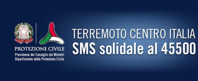 Il giallo degli sms solidali spariti. «Nessun furto, andranno ai terremotati»