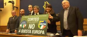 Nasce a destra un partito sovranista. Il 25 marzo corteo anti Ue a Roma