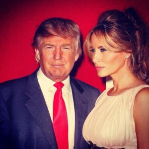 Melania è la terza moglie di Donald Trump