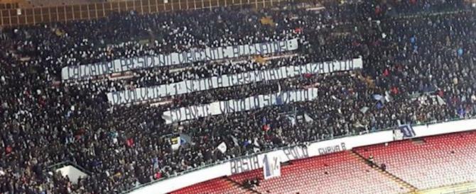 Proposta degli ultras ai presidenti di calcio: «L'1% degli incassi ai terremotati»