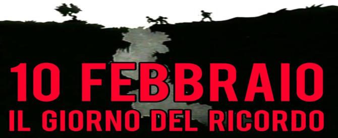 Nel Giorno del Ricordo il Pd si riscopre negazionista e anti-italiano