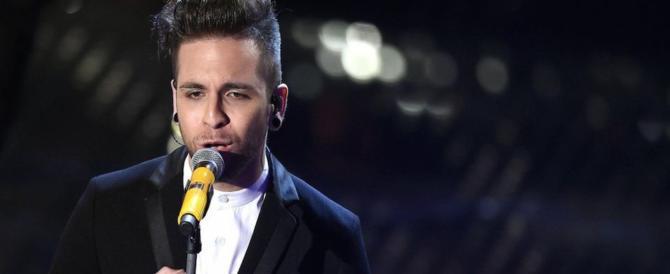 Sanremo, Alessio Bernabei va in finale alla faccia dei politicamente corretti
