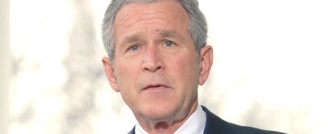 Toh, chi si rivede. George W. Bush si risveglia. E scarica livore contro Trump