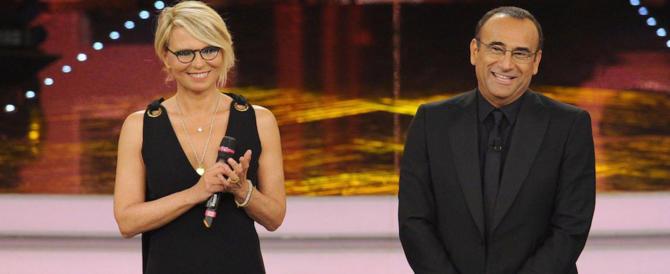 Sanremo con l'ossessione Trump: dalla gaffe della De Filippi al falso Bob Dylan