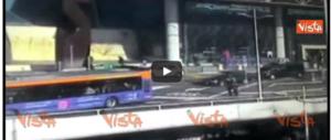 Ncc investe vigili a Fiumicino nel giorno dello sciopero dei taxi (VIDEO)