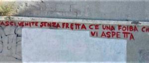 Lo hanno rifatto: a Cagliari gli antifascisti ingiuriano le Foibe