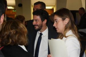 L'ex direttore dell'Unar con il sottosegretario Boschi