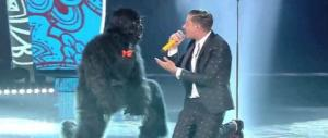 Gabbani opinionista: la mia scimmia? C'è un po' di Marx e un po' di Spengler