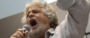 Grillo torna a minacciare i giornalisti: «Per voi sarà un anno nero»