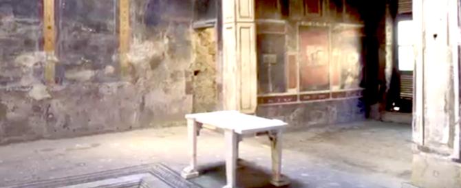Pompei, a San Valentino apre (e poi richiude) la Casa dei casti amanti (video)