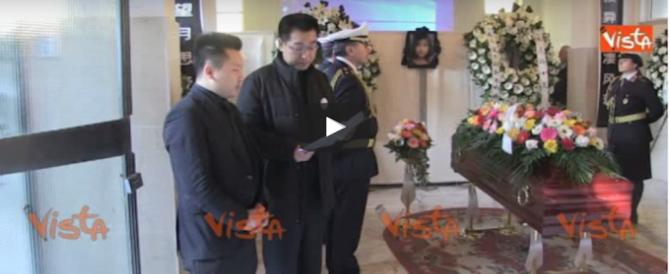 I funerali della ragazza cinese morta a Tor Sapienza: il ricordo del padre (video)