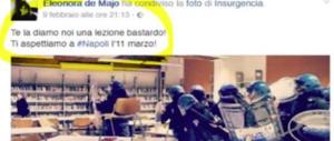 """""""Bastardo"""". Consigliera di De Magistris minaccia Salvini, ma se non dici """"patata""""…"""
