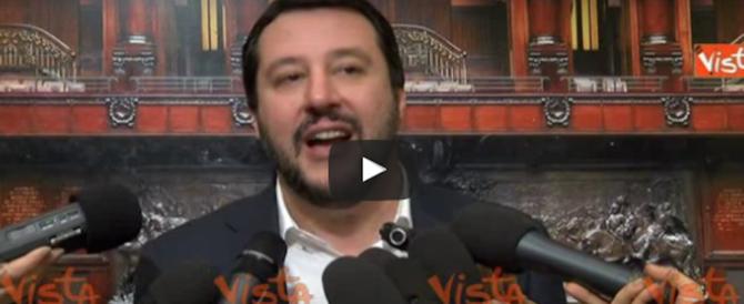 Salvini avvisa Gentiloni: «Se aumenti le tasse facciamo le barricate» (video)