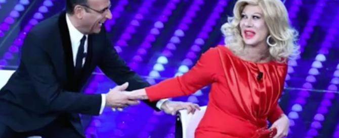 Sanremo, l'ira di Sandra Milo: «Non si scherza sulle donne ora che ci uccidono…»