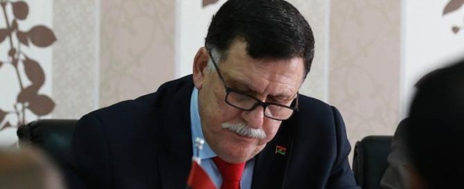 Libia, al Serraj licenzia il suo portavoce perché ha litigato in tv