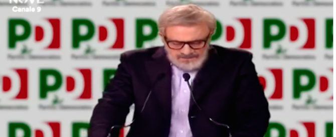 Michele Emiliano fa quattro parti in commedia. E Crozza lo castiga (video)