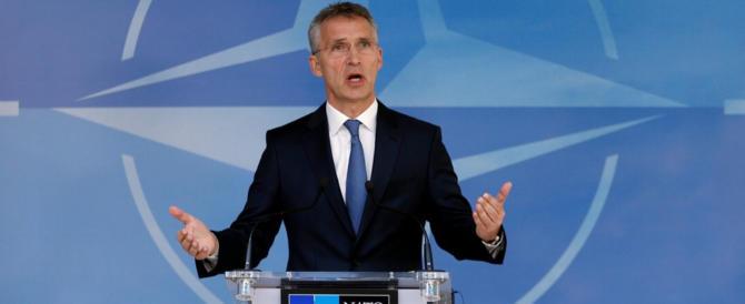 Stoltenberg: «L'Italia deve spendere di più per la difesa, è una priorità»