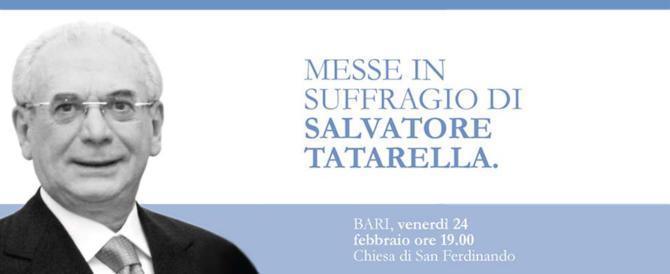 Salvatore Tatarella, Messe a Bari e a Cerignola a un mese dalla scomparsa