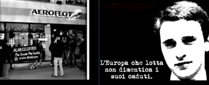"""Comunisti assassini!"": e 40 anni fa Alain Escoffier diventò torcia umana (video)"