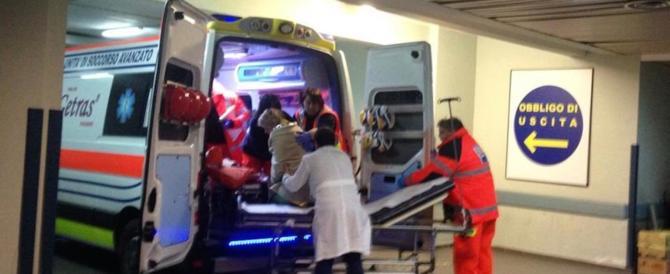 Incendio in una casa di cura a Poli: anziano arriva in ospedale già morto