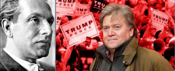 Sorpresa Trump: Evola sdoganato da Bannon, lo spin doctor di Donald