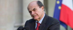 Bersani cambia tattica: il dialogo con i Cinquestelle? Giusto se sono contro la destra