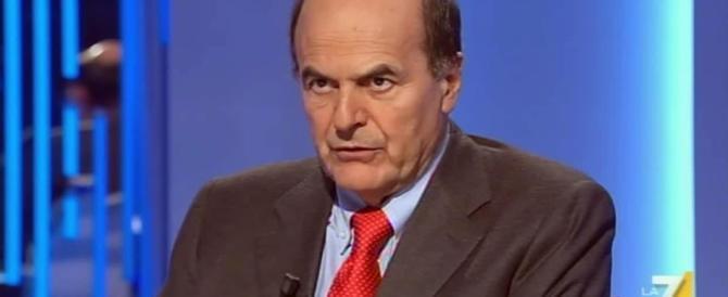 Bersani: il popolo non ci sopporta più, stiamo attenti che la destra arriva