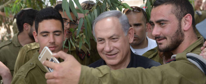 """Netanyahu respinge le accuse per l'intervento """"Protective edge"""" a Gaza"""